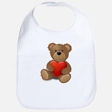 Cute teddybear Bib