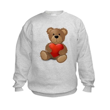 Cute teddybear Kids Sweatshirt
