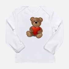 Cute teddybear Long Sleeve Infant T-Shirt