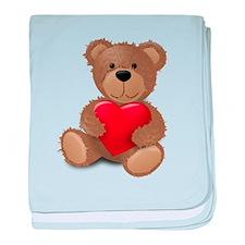 Cute teddybear baby blanket