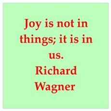 Richard wagner quotes Poster