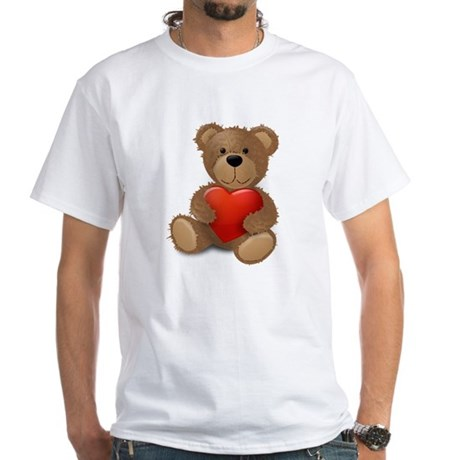 Cute teddybear White T-Shirt