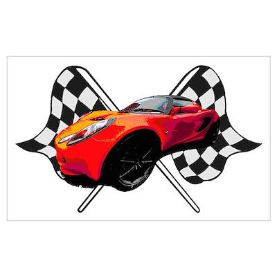 Lotus Racing Poster
