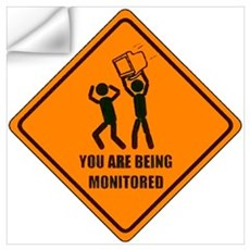 Monitored Wall Decal