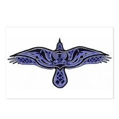 Celtic Raven Postcards (Package of 8)