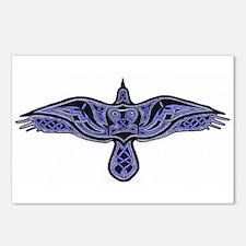 Celtic Raven Postcards (Package of 8)
