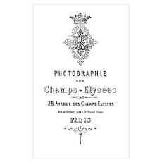 PARIS PHOTOGRAPHIE CHAMPS - ELYSEES Pr Poster