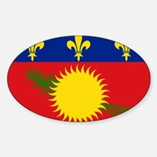 Guadeloupe Flag Decal