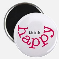 Think Happy Magnet
