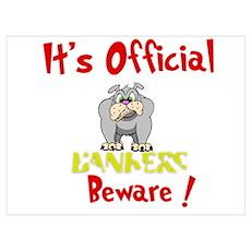 Bankers Beware! Poster