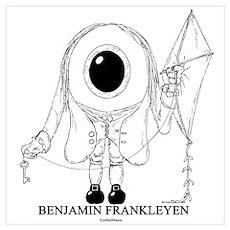 Benjamin Frankleyen Poster