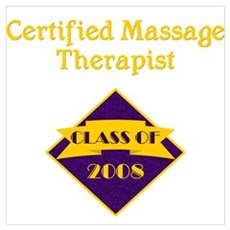 Massage Therapist Canvas Art
