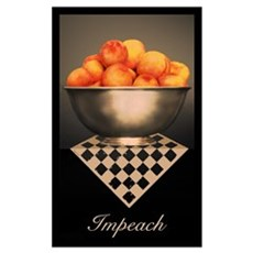 Life is Just a Bowl of Peache Poster