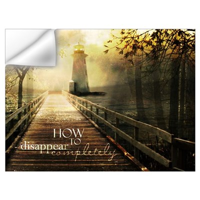 How to Disappear Completely Wall Decal