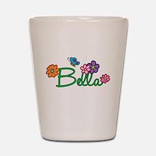 Bella Flowers Shot Glass