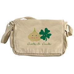 Garlic & Gaelic Messenger Bag