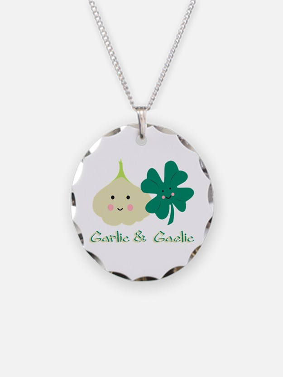 Garlic & Gaelic Necklace