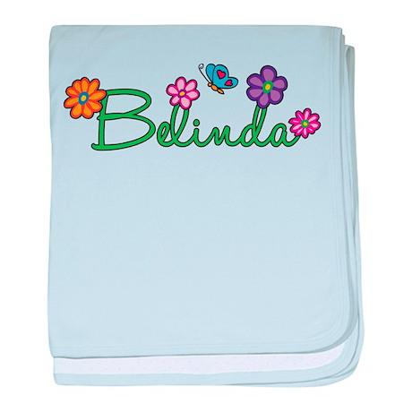 Belinda Flowers baby blanket