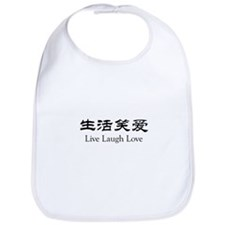 Live Laugh Love Bib