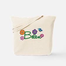 Belen Flowers Tote Bag
