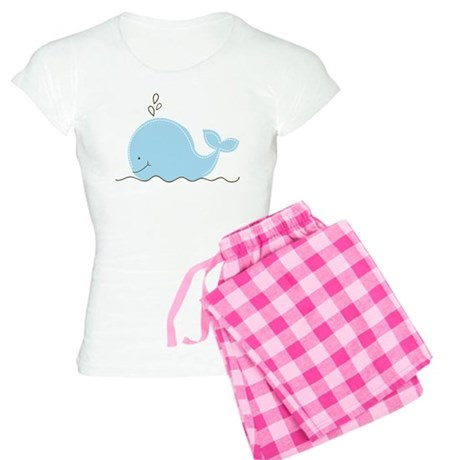 Little Blue Whale Women's Light Pajamas