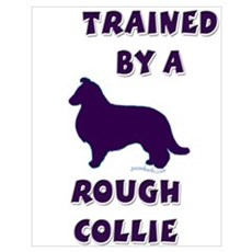 Rough Collie Ppl Poster