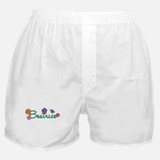 Beatrice Flowers Boxer Shorts