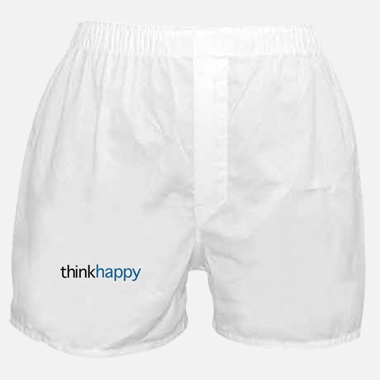 Think Happy Boxer Shorts