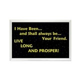 Live long and prosper Magnets
