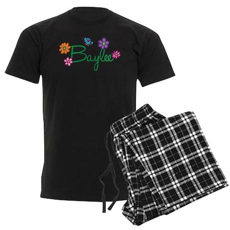 Baylee Flowers Men's Dark Pajamas