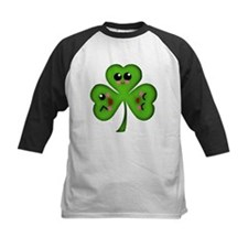 Cute Kawaii Art Shamrock Tee
