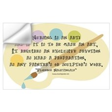Nursing is an Art Wall Decal