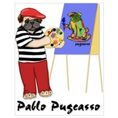 Pablo Pugcasso Poster