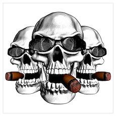 Cool Skulls Poster