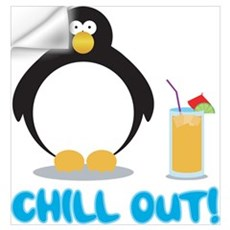 Chill Out! Wall Decal