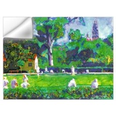 Lawn Bowling Wall Decal