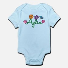 Aylin Flowers Infant Bodysuit