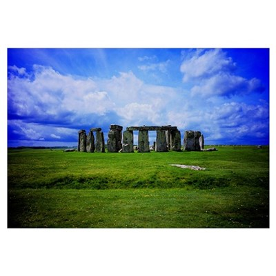 Stonehenge Canvas Art