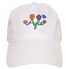 Ayla Flowers Cap