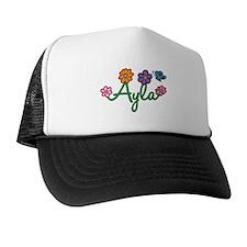 Ayla Flowers Hat