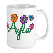 Ayla Flowers Mug