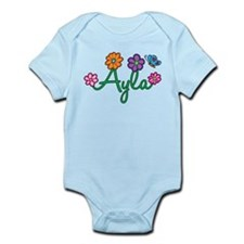 Ayla Flowers Infant Bodysuit