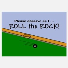 OBSERVE AS I ROLL THE ROCK