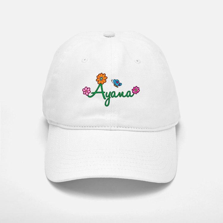 Ayana Flowers Cap