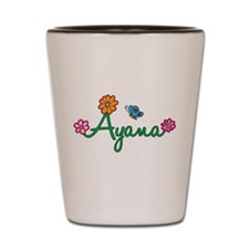 Ayana Flowers Shot Glass