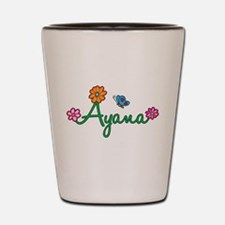 Ayana Flowers Shot Glass