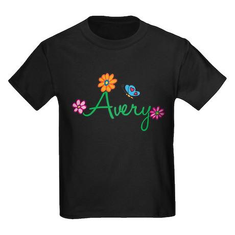 Avery Flowers Kids Dark T-Shirt