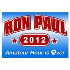 Ron Paul - Amateur Hour Framed Print