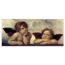The Sistine Madonna (detail) Poster