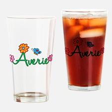 Averie Flowers Drinking Glass